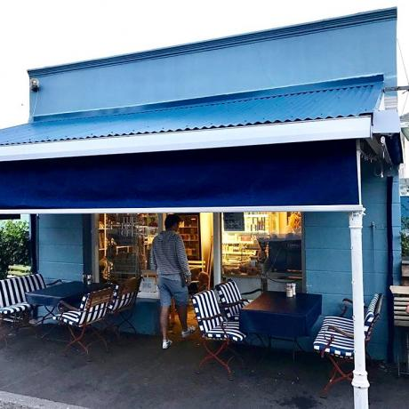 The Blue Cafe