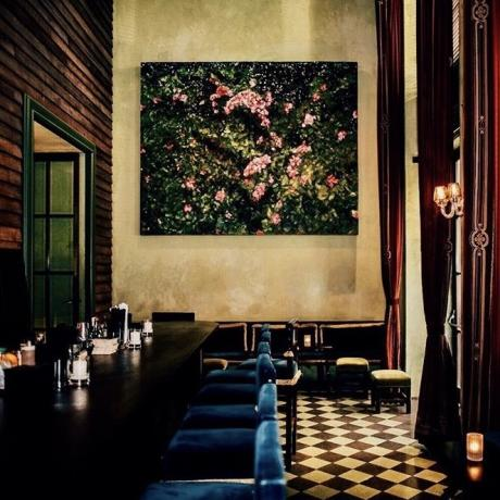 Rose Bar at Gramercy Park Hotel